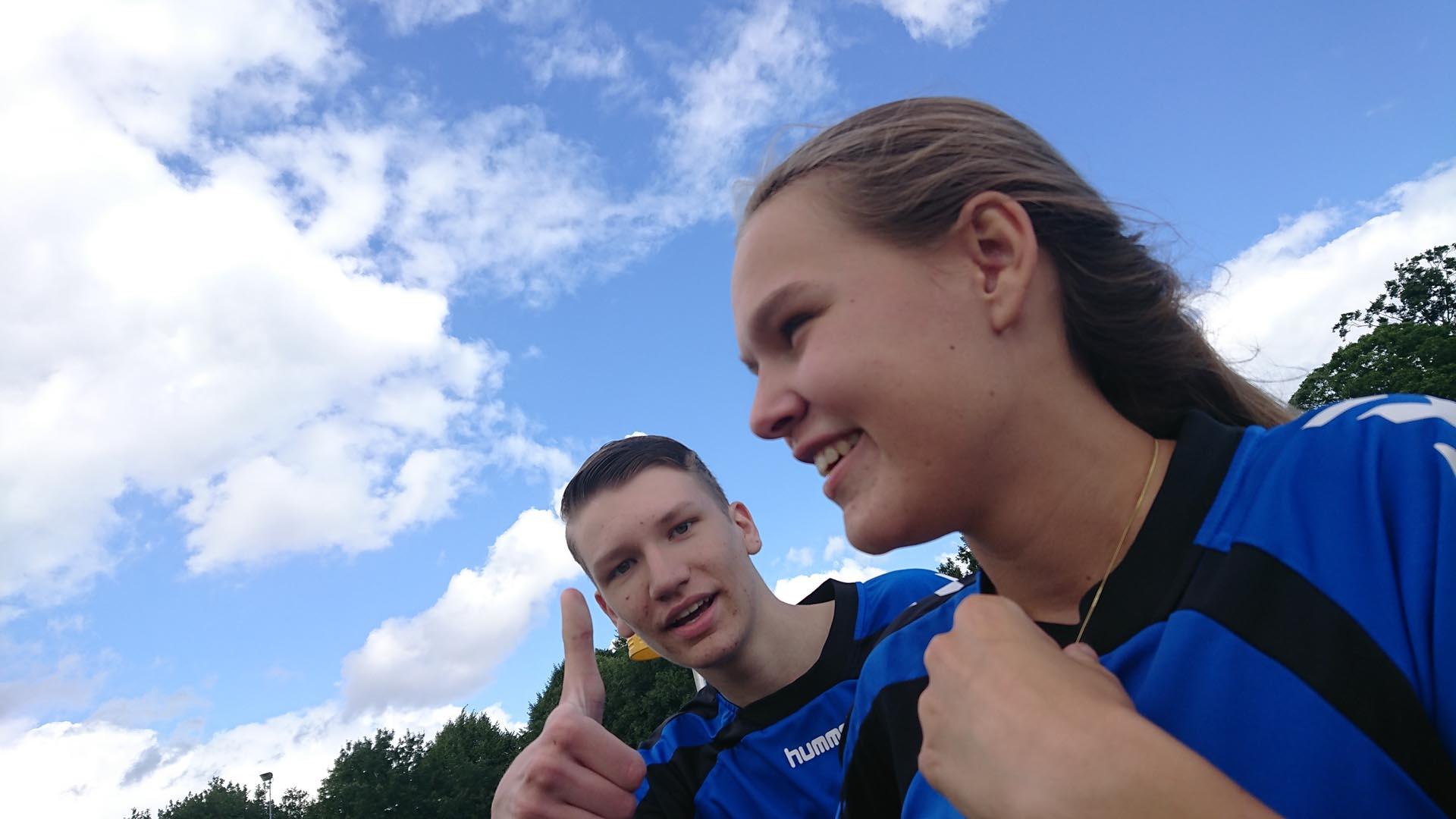 Korfbal training kc doorn voor de jeugd